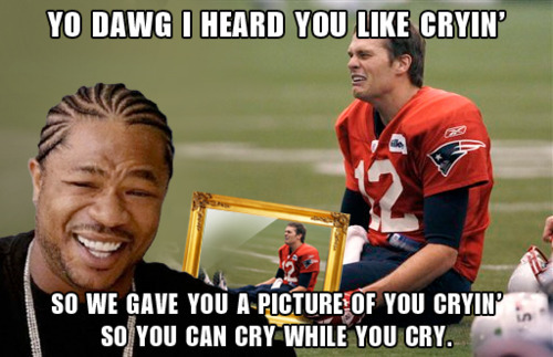 The Best of Sad Tom Brady Our favorite pictures of Sad Keanu's new best friend.