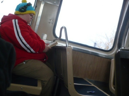 Real-Life Cartman: RESPECT HIS AUTHORITAH