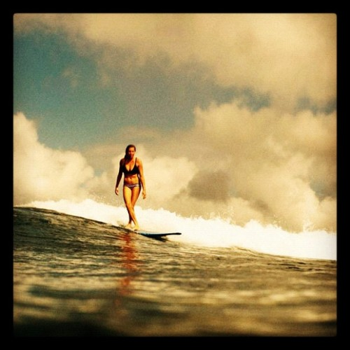 Surf #bikini  (Taken with instagram)