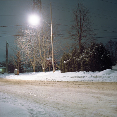 The silent neighborhood on Flickr. Mamiya C330 on kodak portra 160vc I love how the colours turned out. The blue tone of the sky is really nice. website: www.maxpotvin.caBlog/Tumblr