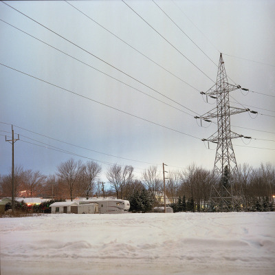 The silent neighborhood on Flickr. Mamiya C330 on kodak portra 160vc No light whatsoever and exposure around 2 minutes. Not bad for a Eye Meter ! website: www.maxpotvin.caBlog/Tumblr