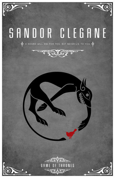 adh:  Sandor Clegane Personal Sigil by *LiquidSoulDesign  MY GOD! It's ammmmazing!