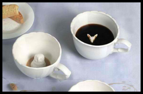 jhonys:  Hidden animal teacups.Ange-line