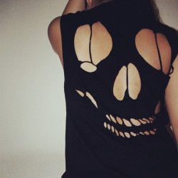 My New #shirt #fashion #mode #moda #style #new #skull (Taken with instagram)