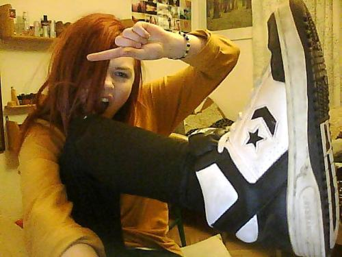 LOOK WHAT I FOUND IN MY CLOSET, CONVERSE WEAPONS FOREVER!!!
