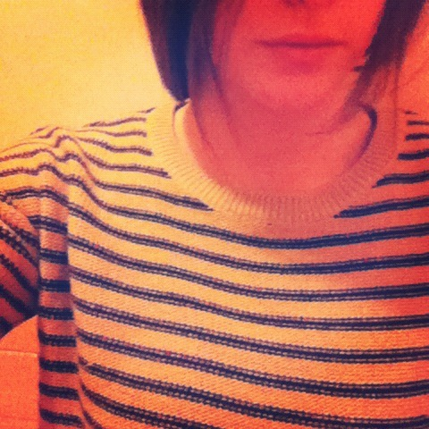 Someone once said, the best time to wear a striped sweater is, indeed, all the time