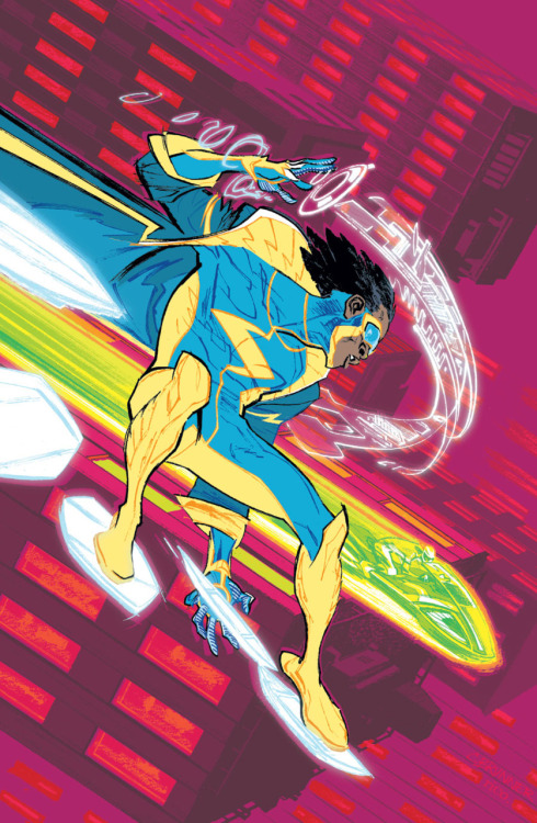 kickstandkids:  Sharing this unused Static Shock cover again because not enough people have seen it. It was my favorite work-for-hire cover we did in 2011. Khary Randolph did a great job finishing up the covers before the series got cancelled. I especially love the series finale cover.