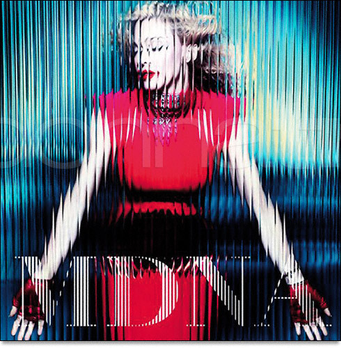 MDNA standard edition cover.  (Source: Madonnatribe)