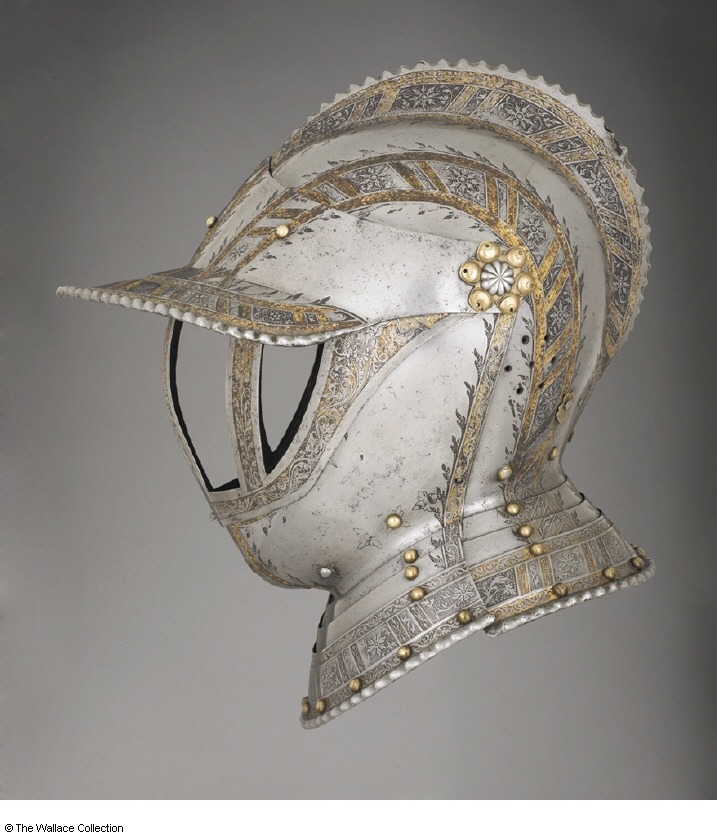 lyne:  GERMAN HELMETS, 1500S