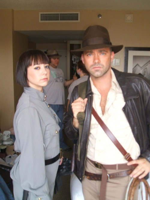 Irina Spalko and Indiana Jones by Juliet Taylor and Ryan Schile  Another fantastic submission!