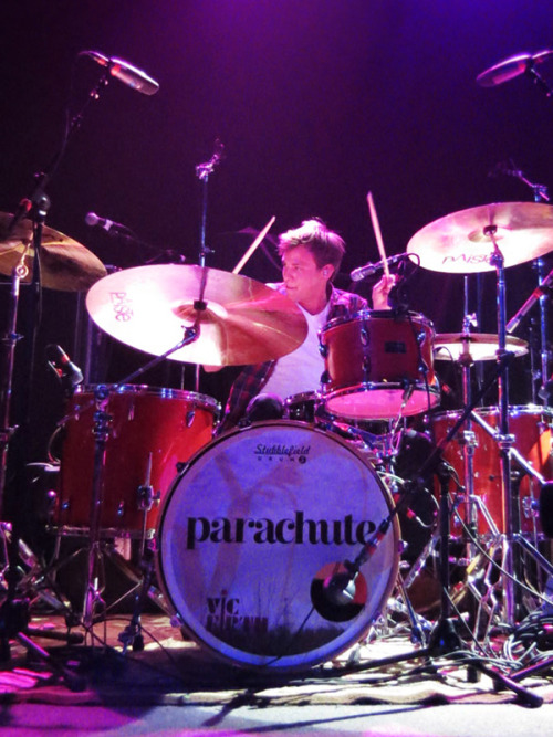 Johnny Stubblefield of Parachute at the Neptune Theater on 2/3/2012