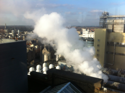 Smokestack To begin to post-rationalize the last 5 days spent in Dublin toon, I'd like to share two, rather key, takeaways; 1.  The zenith of a fine conference and everything you expect from a good takeaway; a 24 hour faux American diner joint, surrounded by good friends and eating the quite aptly named 'Smokestack' beef burger, lovingly greased up with smoked applewood cheese and bacon. 2. The distinct feeling of being fired up! 5 days in the company of interesting people with 'disruptive' points of view leaves me with a notion to turn this ship arooooound!! In all honesty, before arriving, the thought of these events made me shudder as I began to imagine the quintessential 'receiving and blowing smoke up ones ass' rhetoric; otherwise known as a 'conference'. How very cynical of me. By joves there are some clever and inspiring people out there, and I am all the better for meeting them! When these minds come together, the future becomes exhilarating! Let's get emotional!  Notes from key presentations to follow…