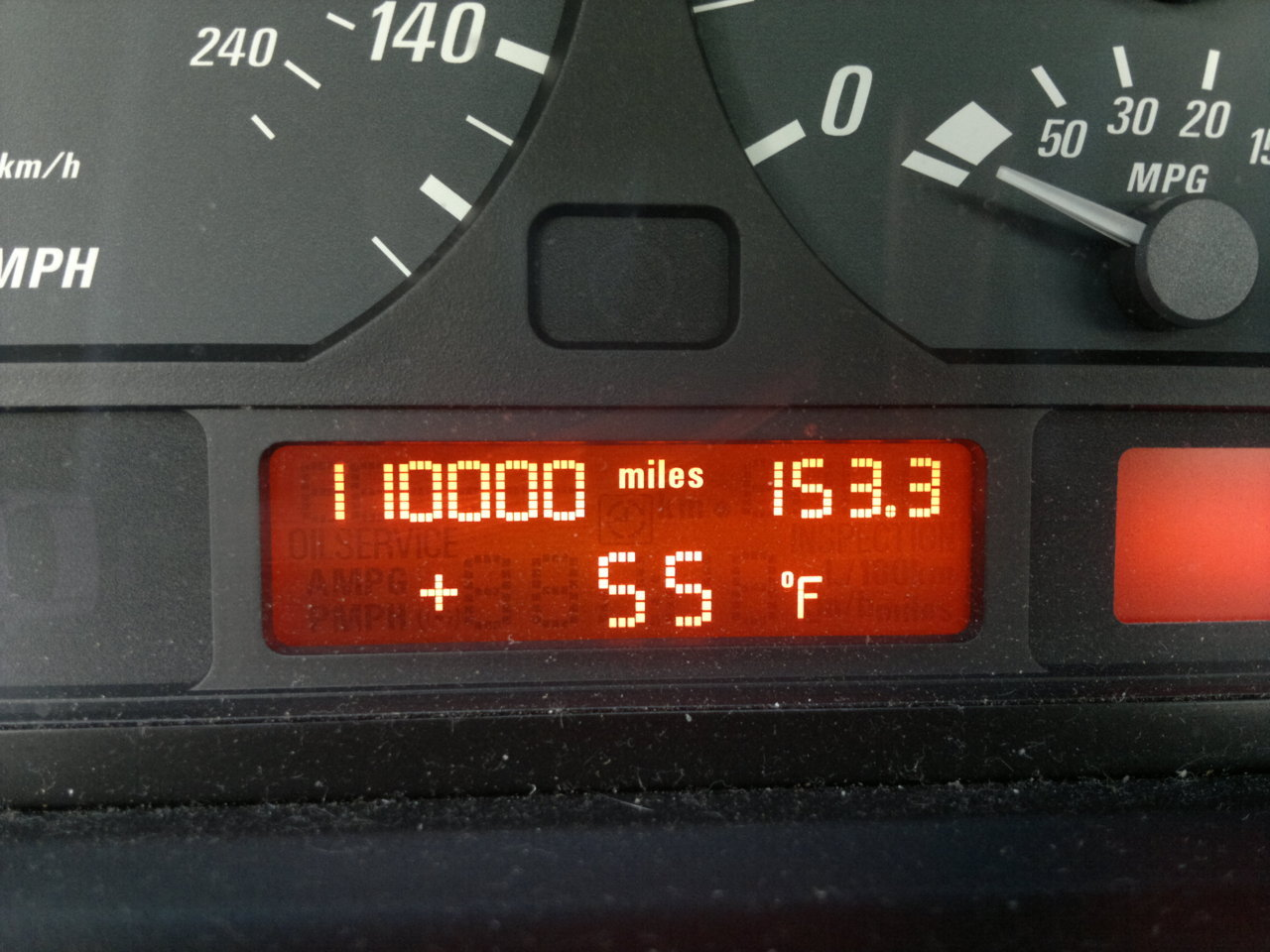A few days ago my Ci finally hit 110,000 miles. It's been a while since I've had her now and she's getting old but I still haven't gotten tired of riding her ;DMyth: BMWs are costly to maintain.False. Just pay attention to the dash's icons, check the engine oil, transmission fluid, etc. regularly and you'll never have to pay those stereotypically high costs.To this day, the most I ever had to pay for maintenance/repairs done to the car was $350 (and it was for 4 jobs done as one). Take good care of your car and it'll take good care of you.