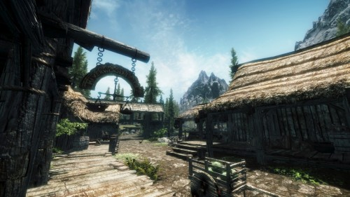 My Current Wallpaper: Riverwood, Skyrim
