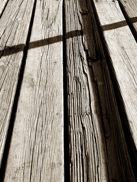 valscrapbook:  weathered wood by oddthingies on Flickr.