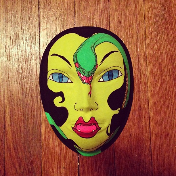 done #tom #mask  (Taken with instagram)