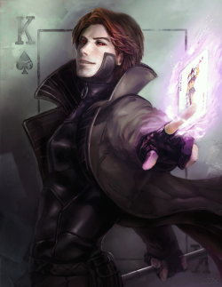 Gambit by ~BBQfish (on tumblr)