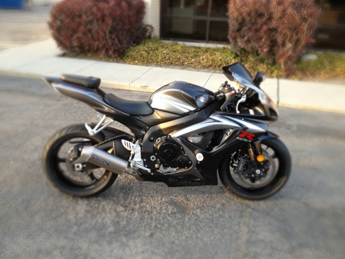 My new bike. 2007 Suzuki GSXR 750!