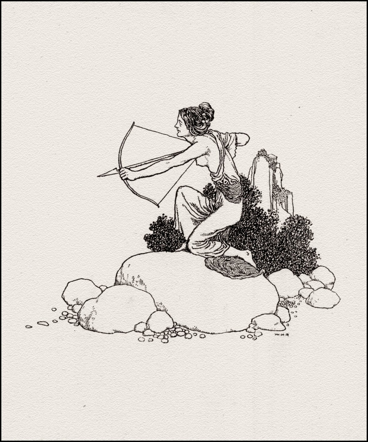 W. Heath Robinson illustration for A Midsummer Night's Dream