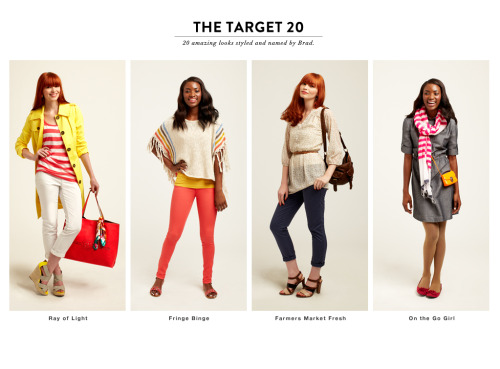 targetstyle:  THE TARGET 2020 amazing looks styled and named by Brad Ray of Light Fringe Binge Farmers Market Fresh On the Go Girl