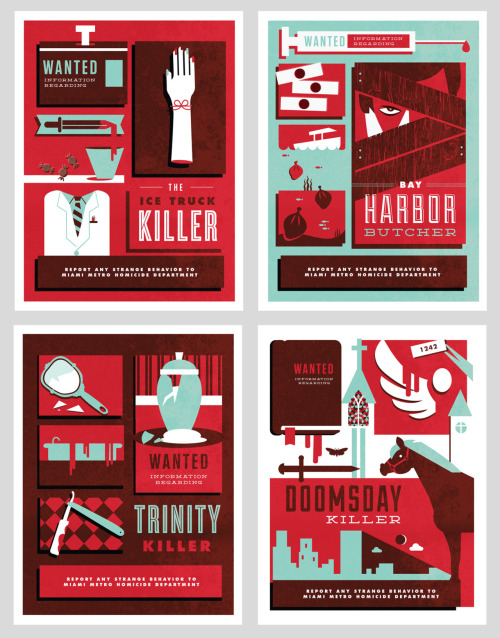 Fake Anything project I've been working on for awhile, Dexter wanted posters! Click here to see them all large!