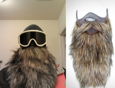 thedailywhat:  Above: Beardski — a combination ski mask and foot-long beard. (via.)  … need