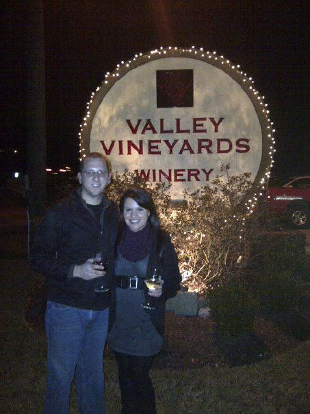 I can't believe I forgot to blog about our trip to the Vineyard! Sam's aunt is the head chemist at Valley Vineyards! So cool. We took a party bus out there last Saturday with his extended family and rented out the top floor for a wine night and dinner. They let you grill your own steak/salmon if you want! Naturally, he grilled mine because I couldn't do that even if I wanted to… but everything was delicious. I had the best time catching up with some of his cousins that we don't get to see but a few times a year and having the usual bonding sessions with his mama and aunt Nicole :)