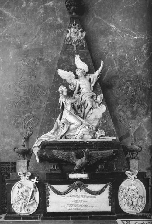 monument to queen catharina opalinska. nicolas-sébastien adam. 1749