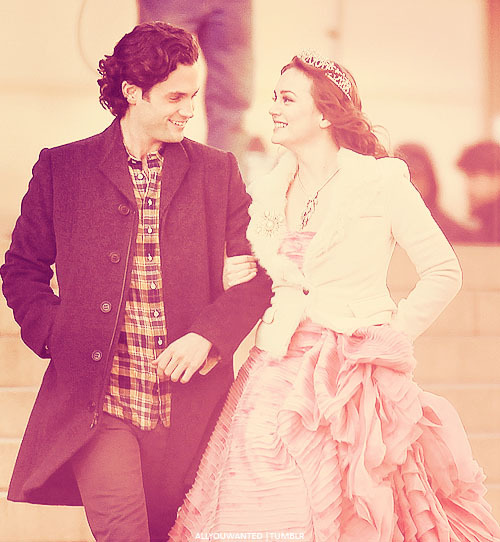 Penn Badgley & Leighton Meester, Gossip Girl, 06 February 2012