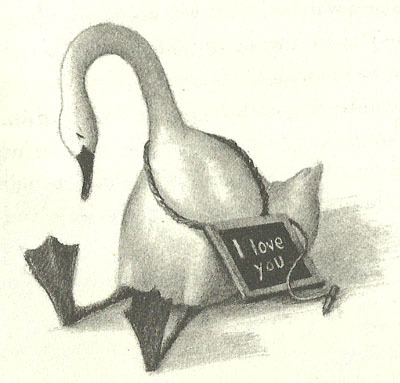 longforsaltyairinmyhair:  Trumpet Of The Swan  I READ THIS BOOK A LOT.