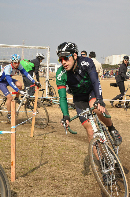 DSC_0729 by MAEKAWA photo`s on Flickr. Gishi competed in Kansai Cyclocross cat1 series final race Katsuragawa, Kyoto.