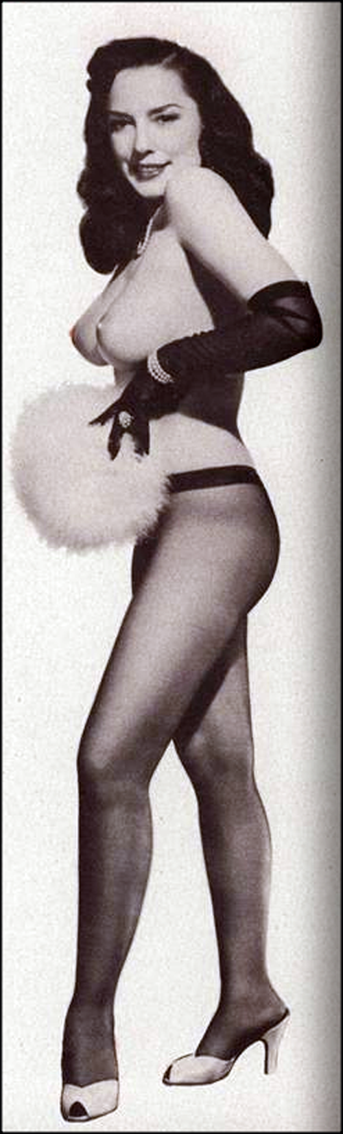 Evelyn West   playgirl magazine 1956