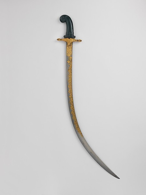 lostsplendor:  Turkish Saber, c. 19th Century (via The Metropolitan Museum of Art)