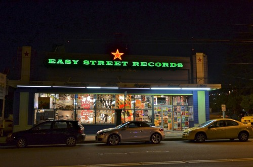 Old style record store. I was frankly surprised to find this place still exits. I would have expected in this age of MP3s, a record store would be long gone.
