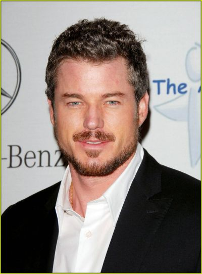Eric Dane Is it humid in here or is it just Dr. McSteamy? Cali born-and-raised, and he even played water polo in high school (ow owwww!). So, we'll forgive him for the sex tape leak and rehab stint. Father to Billie and Georgia