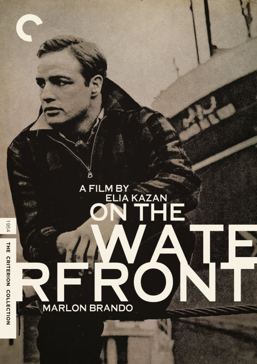 "midmarauder:  CRITERION COVER FOR ELIA KAZAN'S ""ON THE WATERFRONT"""