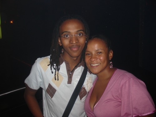 @lebomashile and me. Sometime in 2006/07 No, we're not related.