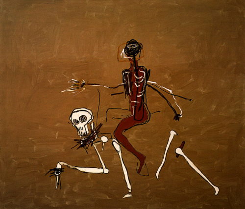 RIDING WITH DEAD, 1988 - Jean-Michel Basquiat (1960-1988)