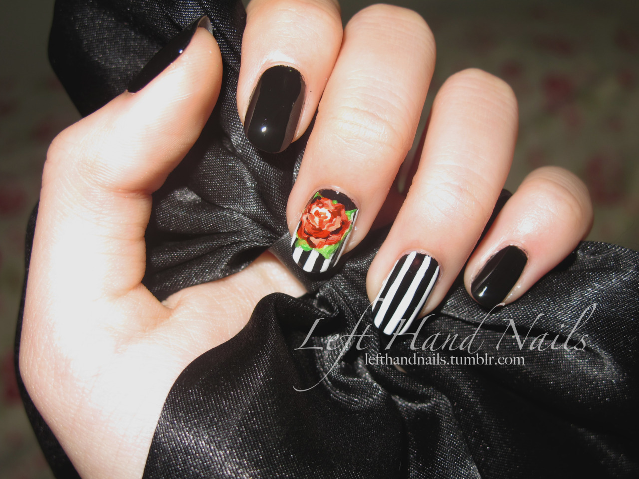 Bella Sassy Nails via lefthandnails:  I thought the flash made the colors stand out more :)    Stay fab, join Sassy Nation http://sassynation.tumblr.com http://www.facebook.com/TheSassyNation http://twitter.com/#!/SassyNation
