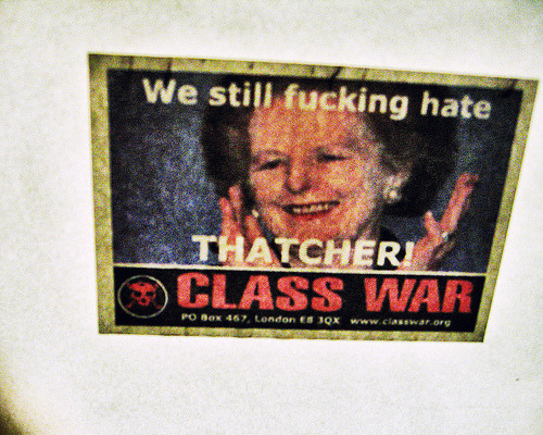 servile-masses-arise:  We still fucking hate Thatcher