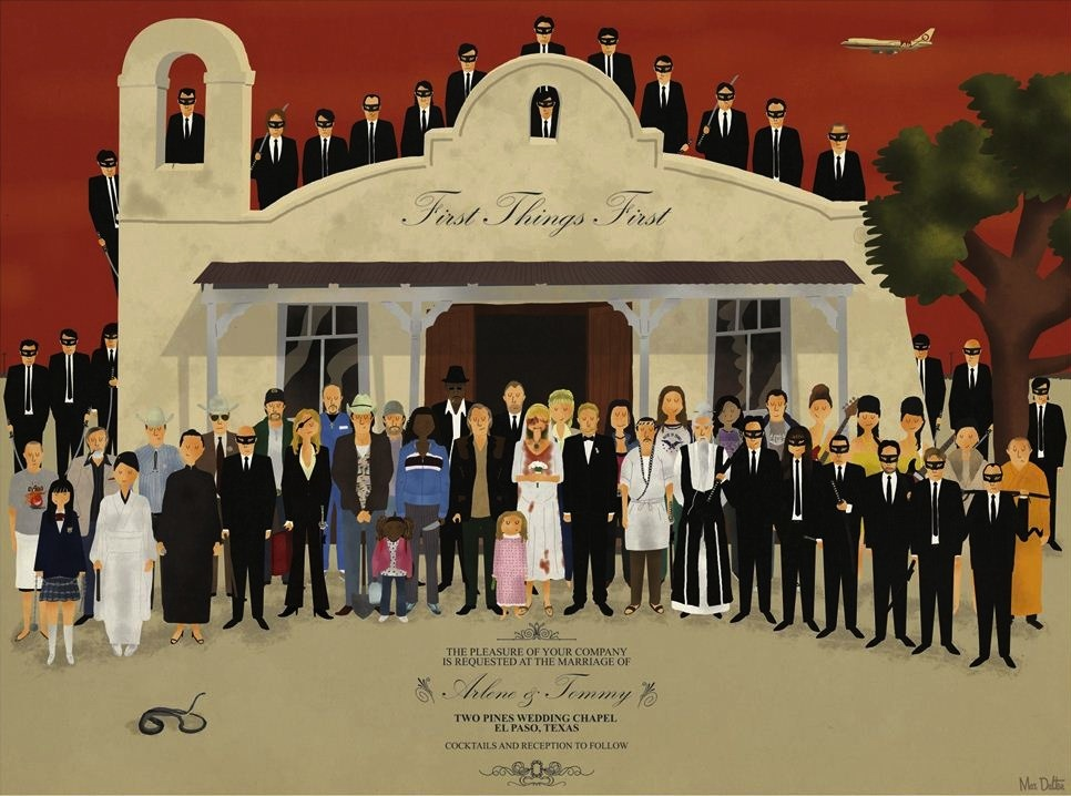 I want one of these Kill Bill wedding posters by Max Dalton.  Check out his Lebowski series too… (Source:Bibliokept)