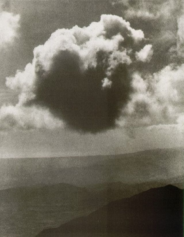 Alvin Langdon-Coburn, The Cloud, 1912 here