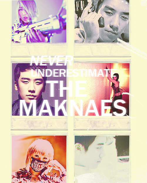 """Maknae power"" requested by nerdss"