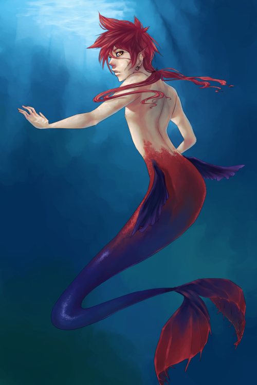 Merman by ~sassyjassy