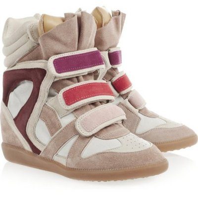 (via fashionstroke.com) WANTED..   ISABEL MARANT WILLOW SNEAKERS