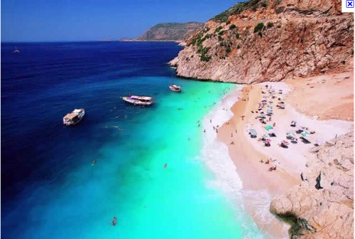 Kaputas Beach, Turkey.