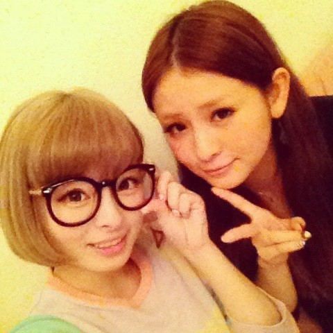 "idolsandhollywood:  kyarychan:  ""Kyarin and Riitan on a date at my house ☆ Way too cute \(^o^) She's my Risako!"" original tweet  She also used this pic in a blog too, the text reads:   blog entry: ""My Risako!!!"" tuesday, february 7th, 11:29:41 PM Tonight I ate dinner with Riitan and then we chilled out at Kyary's place.She's the cutest in the whole world, she really is.  original blog entry I don't wanna jinx it but it kinda looks like Risako and Kyray are becomming fast friends…"