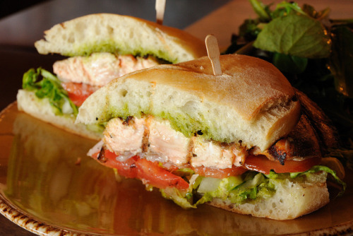 20120205 Salmon Sandwich by Tom Spaulding on Flickr.