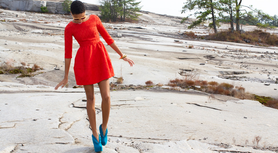 Wading through the mountains in 6 inch heels?  #FLYJANE  Final Destination February '12 Lookbook  FLYJANE