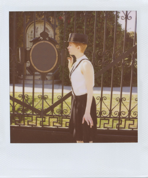sindiamantes:  Band of Outsiders. Spring 2012 Michelle Williams